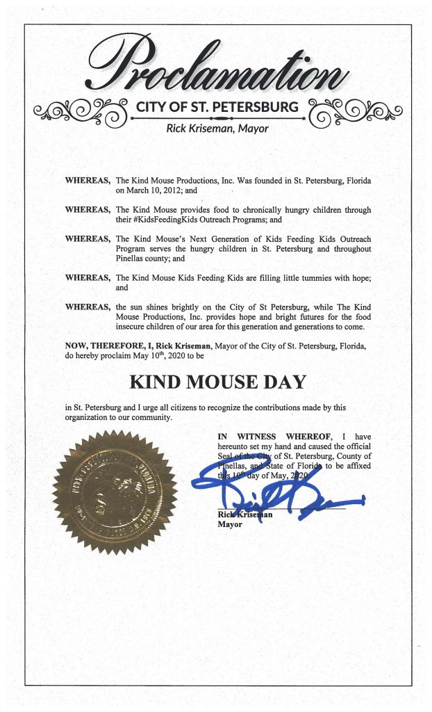 Kind Mouse Day 2020